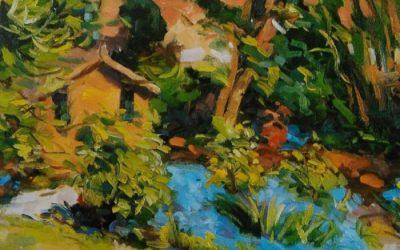 Impasto Painting Technique With Oil Colors