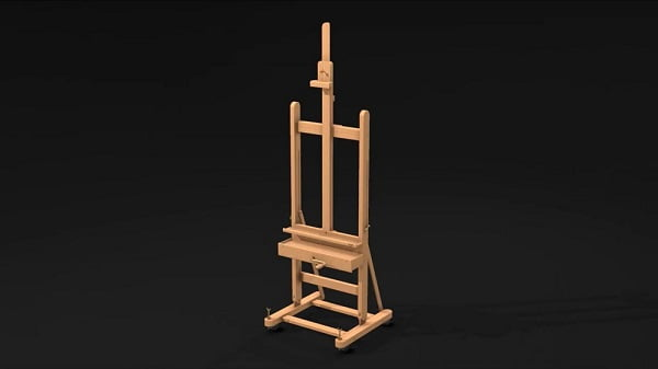Mabef Studio Easel with Crank M 05