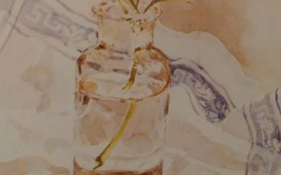 How To Paint Glass Objects Using Watercolors