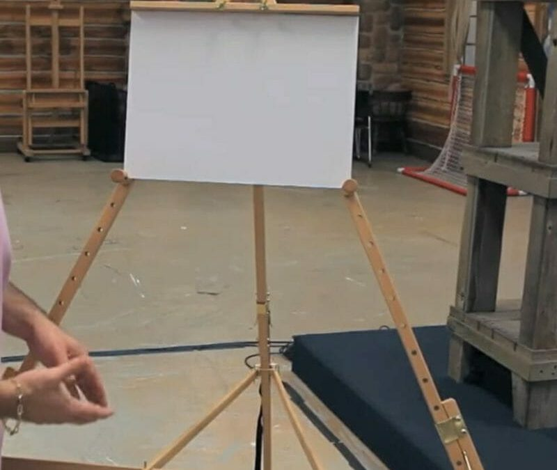 Beauport Artist Easel-Large Format Outdoor Plein Air Painting Easel