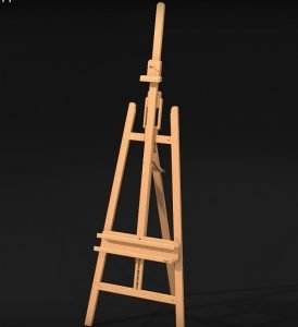 Mabef Lyre easel