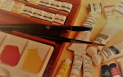 Tools For Watercolor Painting