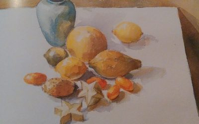 How To Use Gum Arabic In Watercolor Painting
