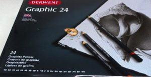box of Derwent graphite pencils