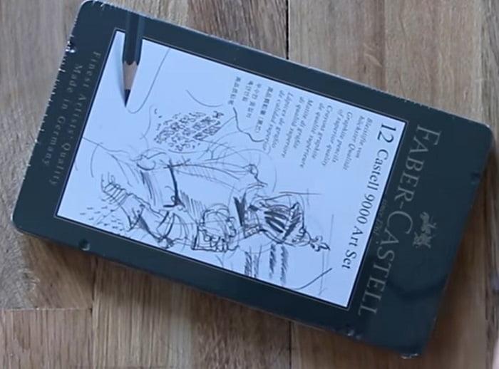Faber Castell graphite pencils in a tin box