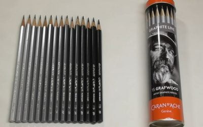 Caran D'Ache Graphite Pencils Grafwood