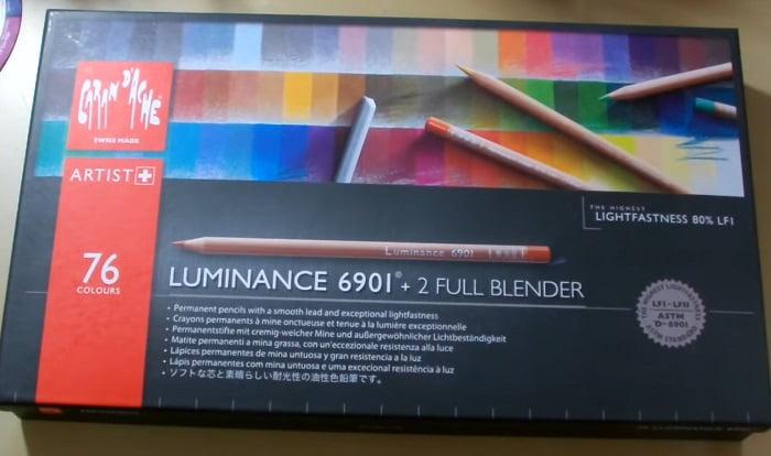 Caran D'Ache Luminance colored pencils
