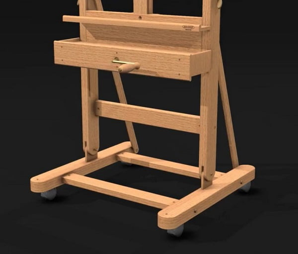 Bottom part of Mabef M05 easel