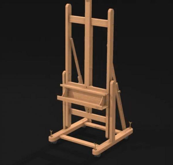 Mabef H-frame studio easel M18