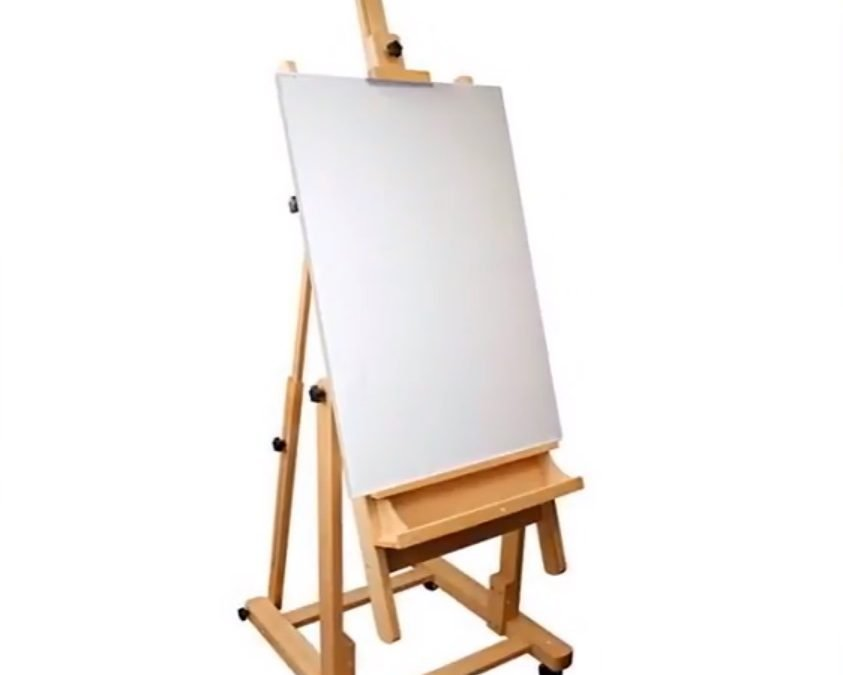 US Art Supply Easel Malibu Extra Large H-Frame Deluxe