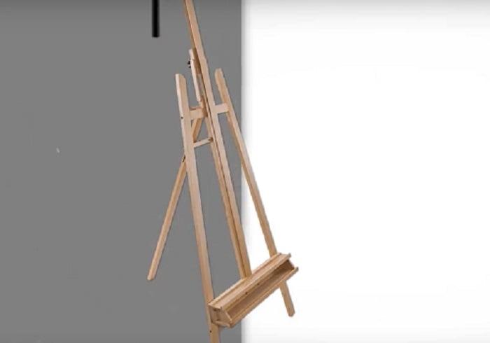 US Art Supply A-frame easel
