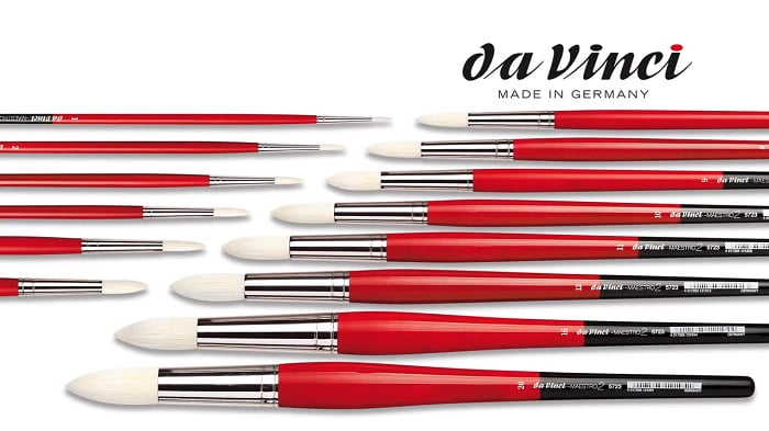 Da Vinci Paint Brushes