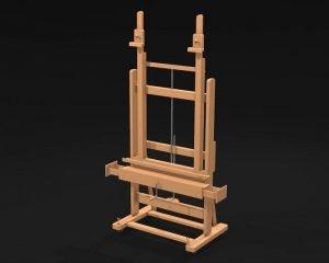 MabefM/02 plus h-frame studio easel