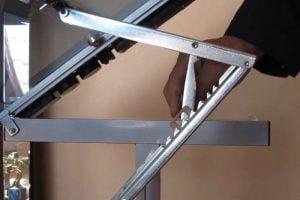 Studio Designs Metal Drawing Table tilting system
